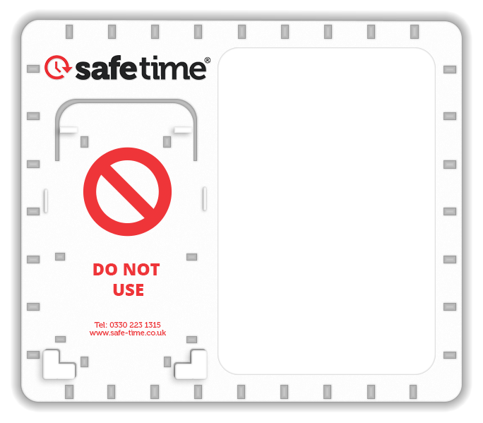 Click-it® Backplate For Scaffolding Inspections