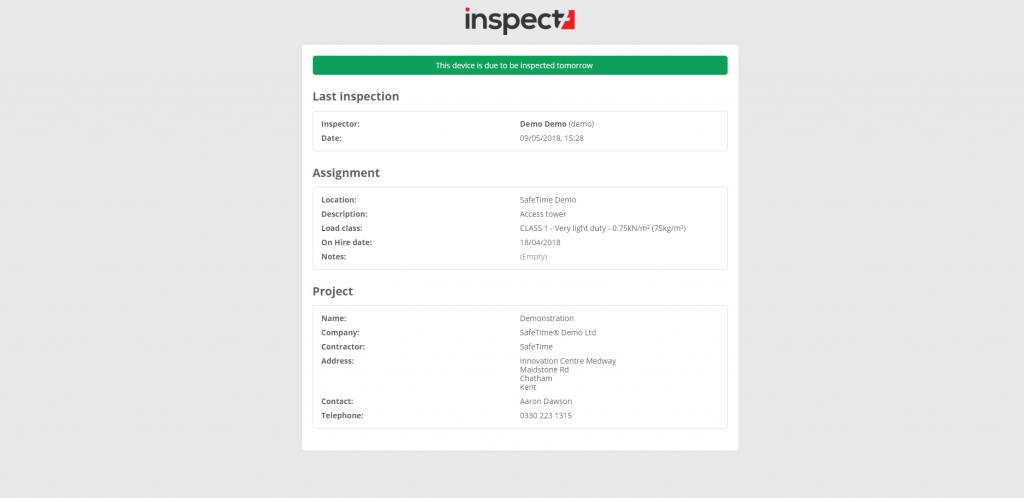 Inspect7® Public Link